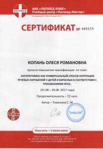 09. Сертификат Логоритмика 2017г.